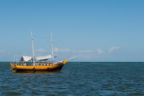 Porto Seguro, na Bahia que é muito visitada