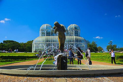 Passeio pelo Jardim Botânico de Curitiba