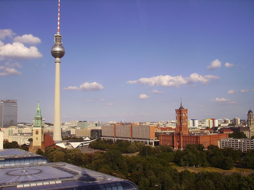 Torre Fernsehturm berlim