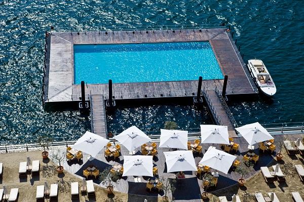 hotel piscina lago di como
