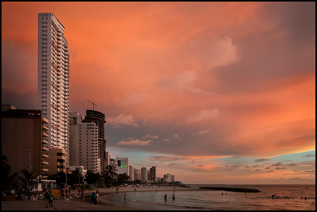 Playa de Bocagrande_Cartagena