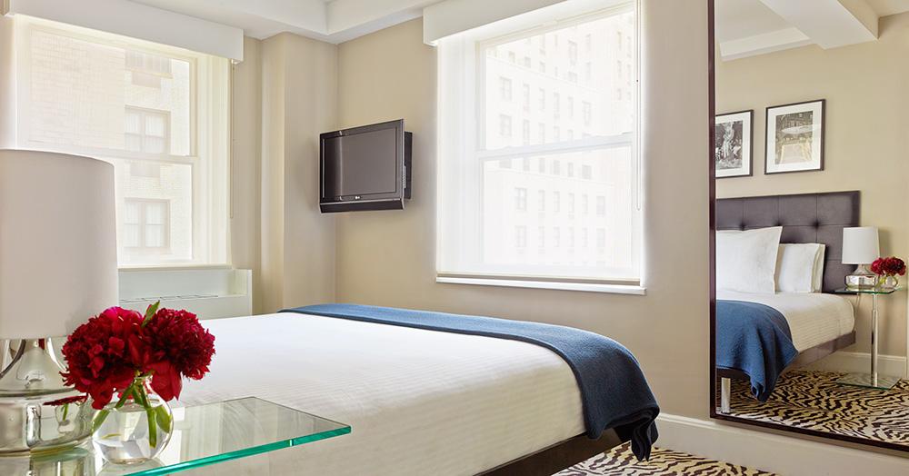 Dicas de hotel em Nova York, com diárias a partir de US$ 135