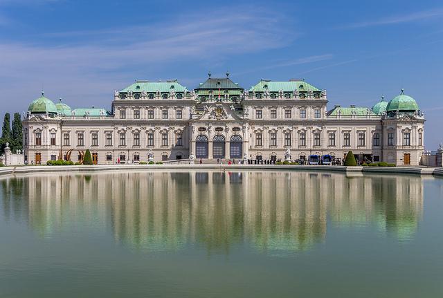 viena_Belvedere palácio