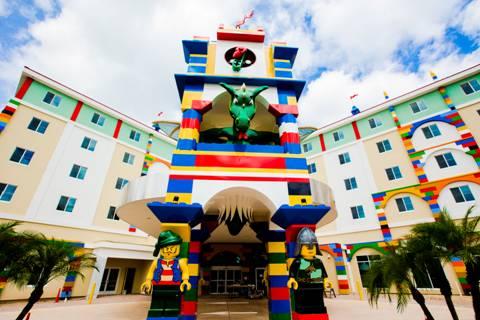Novo hotel da Lego na Flórida