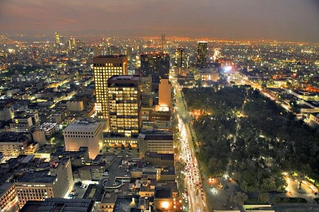 Atrações históricas e culturais na Cidade do México