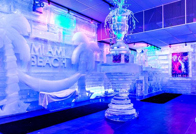 Primeiro bar de gelo em Miami