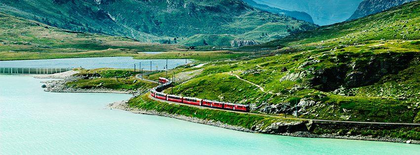Roteiro Suíça de Trem: percorra o país inteiro em uma única viagem