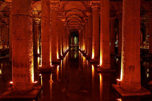 Cisterna de Yerebatan-istambul