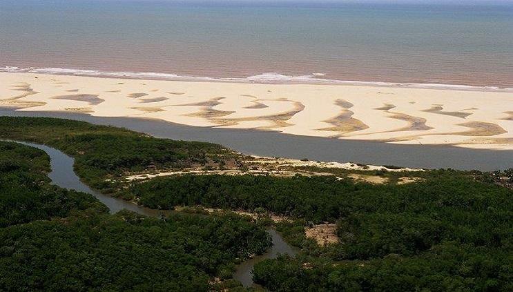 As belezas do Delta do Parnaíba, no litoral do Piauí