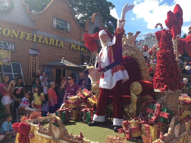 Visite a Noeland, Terra do Papai Noel em Holambra