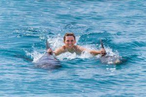 nado com golfinho punta cana