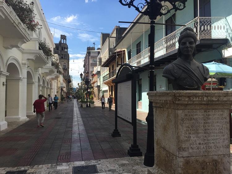 santo domingo republica dominicana - calle el conde