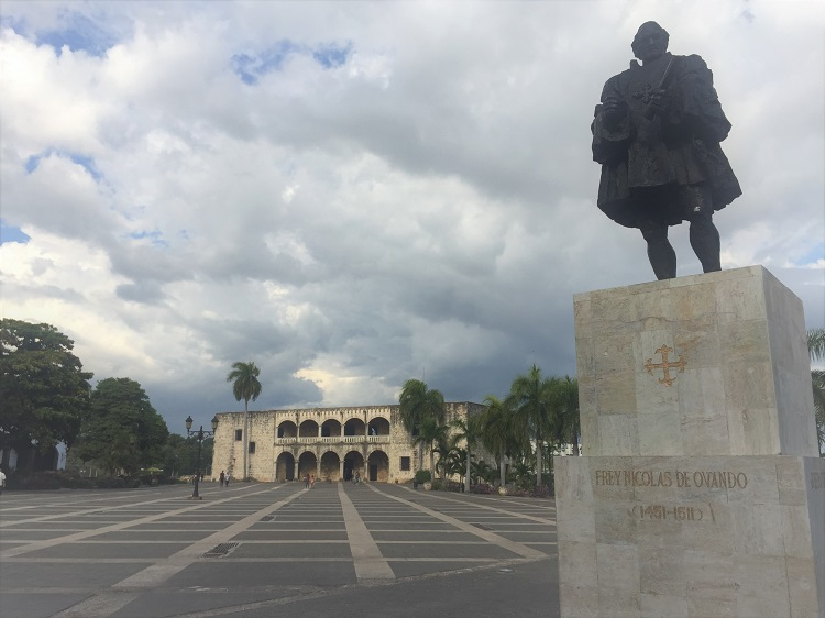 santo domingo republica dominicana - plaza de espana