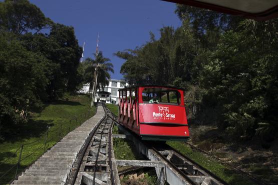 Bondinho Monte Serrat Cidade de Santos