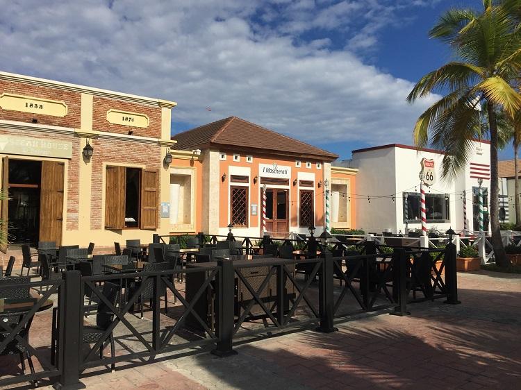 ocean blue & sand restaurantes tematicos