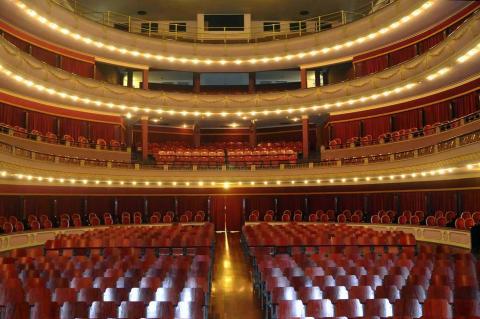 Teatro Culiseu na cidade de Santos