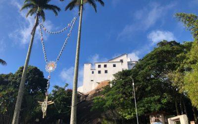 Convento da Penha: lugar de oração e uma vista incrível