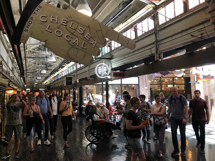 Chelsea Market: passeio gastronômico imperdível em Nova York