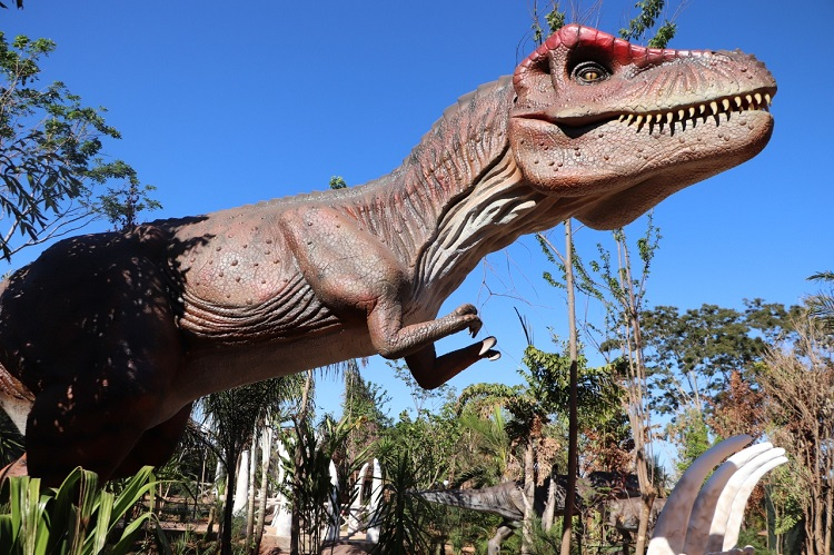 Conheça o Vale dos Dinossauros em Olímpia