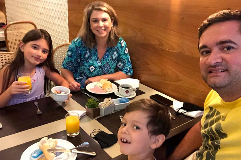 Café da manhã do Mirador é servido das 7h às 11h