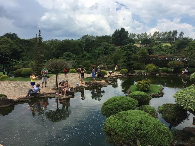 O Jardim Japonês é um dos pontos mais bonitos do Parque Maeda (foto: Passaporte Digital)