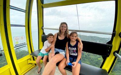 Parque Unipraias: como funciona o bondinho em Balneário Camboriú