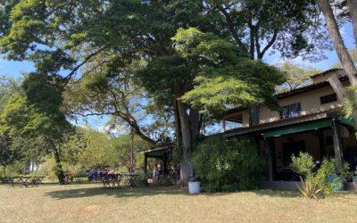 Fazenda em Salto, São Paulo, tem café da manhã e recreação